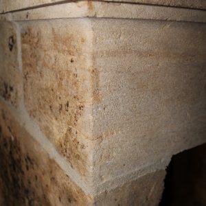 Schouw Antico 6950 Antieke zandstenen ombouwschouw