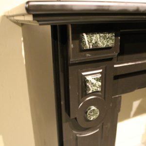 Schouw Antico 8307 Antieke zwarte ombouwschouw