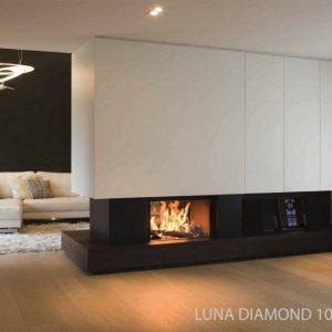 M-design Luna Diamond 1000DV houtkachel