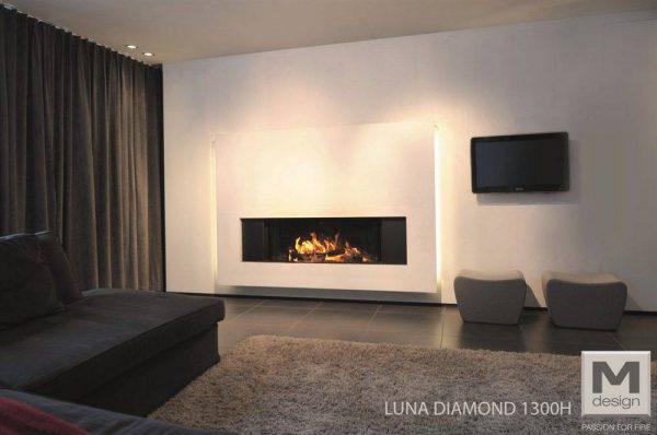 M-design Luna Gold+ 1300H houtkachel