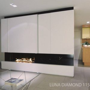 M-design Luna Diamond 1150H houtkachel