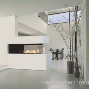 M-design Luna Diamond 1000RD houtkachel