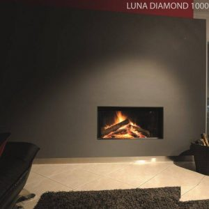 M-design Luna Diamond 1000H houtkachel