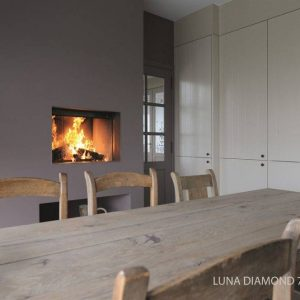 M-design Luna Diamond 700H houtkachel