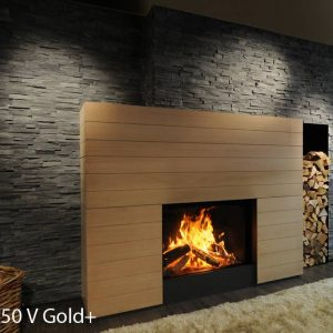 M-design Luna Gold+ 1150V houtkachel
